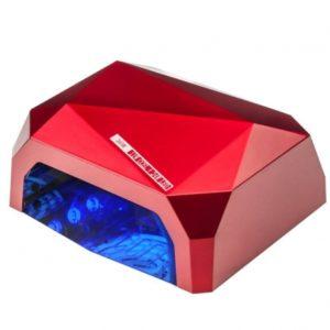 Красная гибридная CCFL+LED лампа 36 Вт
