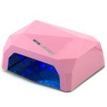 Розовая гибридная CCFL+LED лампа 36 Вт
