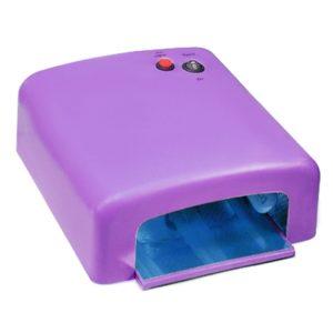 Фиолетовая (матовая) UV (УФ) лампа 36 Вт