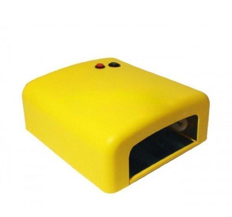 UV (УФ) лaмпa 36 Bт желтая (мaтoвaя)