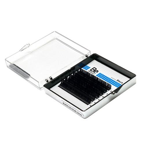 Ресницы Be Perfect Black MIX D/0.10 6 линий (черные)